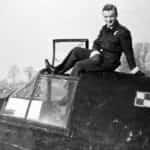 Podporucznik Grzegorz Bukowiecki z 307 Dywizjonu na Beaufighterze VIF.