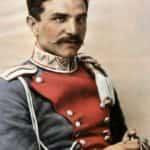 Obraz przedstawiający portret Władysława Zygmunta Beliny-Prażmowskiego (1888-1938). Pułkownika kawalerii Wojska Polskiego i kawalera Orderu Virtuti Militari.
