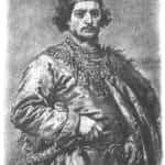Obraz Jana Matejko przedstawiający Bolesława Śmiałego.