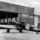 Zdjęcie przedstawia jedynego zachowanego Defianta I (N1671), który służył w 307 Dywizjonie od września 1940 do czerwca 1941.