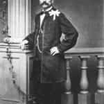 Zdjęcie przedstawiające Dionizego Feliksa Czachowskiego (1810-1863). Pułkownika, naczelnika wojennego województwa sandomierskiego w powstaniu styczniowym.