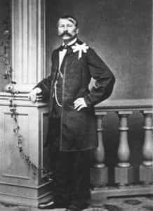 Zdjęcie przedstawiające Dionizego Feliksa Czachowskiego (1810-1863).