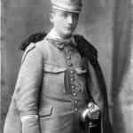 Zdjęcie Hubala czyli Henryka Dobrzańskiego w mundurze 2 Pułku Ułanów Legionów Polskich.