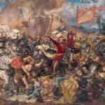Obraz olejny autorstwa Jana Matejki po tytułem Bitwa pod Grunwaldem namalowany w latach 1875–1878.