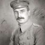Zdjęcie z 1915 roku przedstawiające Kazimierza Sosnkowskiego w mundurze I Brygady.