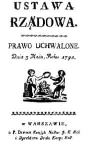 Ustawa Rządowa z 3 maja 1791 - Konstytucja 3 Maja