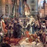 Obraz autorstwa Jana Matejki po tytułem Konstytucja 3 maja 1791 roku.