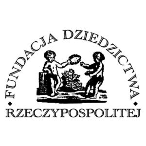 Logo Fundacji Dziedzictwa Rzeczypospolitej.