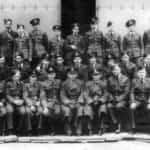 Baza Exeter, grudzień 1941 r. Zbiorowe zdjęcie Lwowskich Puchaczy.