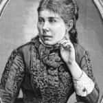 Rysunek J. Buchbinder przedstawiający Marię Konopnicką. Tygodnik Ilustrowany z 1883 roku nr 39