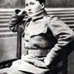 Zdjęcie przedstawiające szesnastoletnią uczennicę z Sosnowca, która sformowała i przyprowadziła do obrony Lwowa oddział ochotniczy.