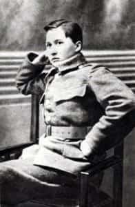 Zdjęcie 16-letniej uczennicy z Sosnowca, która przyprowadziła do obrony Lwowa oddział ochotniczy.