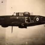"""Samolot jednostki 307 Dywizjonu Myśliwskiego Nocnego """"Lwowskich Puchaczy""""."""