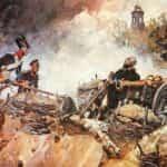 Obraz autorstwa Wojciecha Kossaka przedstawiający śmierć generała Sowińskiego na Reducie Wolskiej.