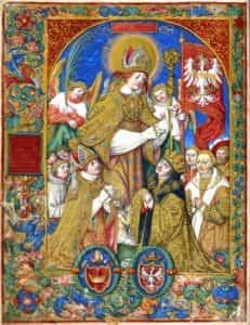 Obraz Stanisława Samostrzelnika pod tytułem Święty Stanisław 1530-1535