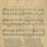 Zdjęcie przedstawia skan śpiewnika piosenki żołnierskiej z 1920 roku. Zbiory polskiej Federacji Bibliotek Cyfrowych.