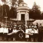 Budowa Cmentarza Orląt we Lwowie. Zdjęcie zrobione w latach 20-tych XX w.