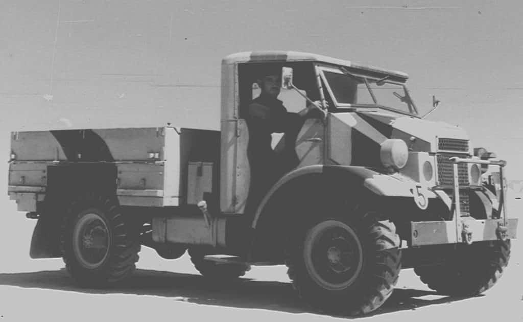 Samochód ciężarowy Chevrolet C15 Brygady Strzelców Karpackich (1941-1942).