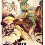Bij bolszewika. Polski plakat propagandowy z roku 1920.
