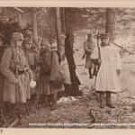 Legiony w Rafajłowej. Zmiana warty ok 1915 r