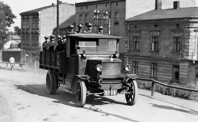 Berliet CBA. Samochód ciężarowy