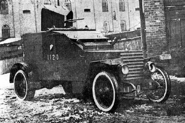 Peugeot pancerny