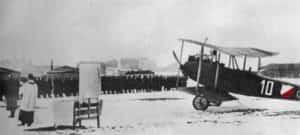 Samoloty Rumpler CI. Pole Mokotowskie, 15 grudnia 1918.