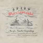 ilustracja do utworu Warszawianka