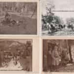 Kolaż pocztówek ze zdjęciami historycznymi pochodzącymi ze zbiorów Koncertu Niepodległości