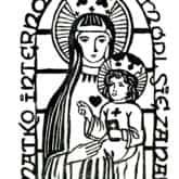 Matko internowanych - módl się za nami, Nysa 1982 (linoryt).