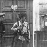 """Żołnierze AK podczas akcji """"Burza"""" w Lublinie, lipiec 1944"""