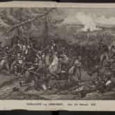 Powstanie Listopadowe – bitwa pod Grochowem (1831). Ryc. F. Sauffer. Źródło: Polona