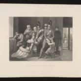 Branka dzieci po Powstaniu Listopadowym. Ryt. Jean Nargeot (lata 30-te XIX wieku). Źródło: Polona