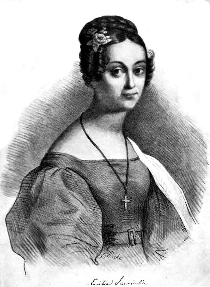 Emilia Sczaniecka herbu Ossoria (ur. 20 maja 1804 w Brodach, zm. 11 maja 1896 w Pakosławiu)