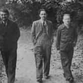 Henryk Zygalski, Jerzy Różycki i Marian Rejewski. Poznań, lata 30. XX w.