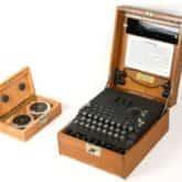 Enigma w kolekcji Muzeum Historii Polski. Fot. MHP/Tomasz Nowacki