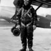Janina Lewandowska, kobieta pilot, zamordowana w Katyniu.