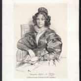 Klementyna Hoffmanowa z domu Tańska[a] (ur. 23 listopada 1798 w Warszawie, zm. 21 września 1845 w Passy). Źródło: Polona