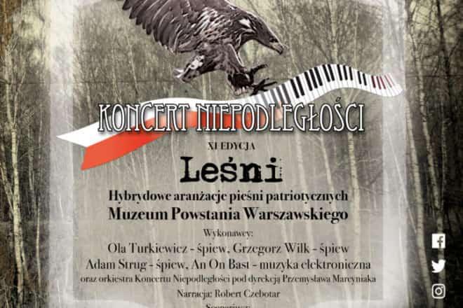 Koncert Niepodległości Leśni