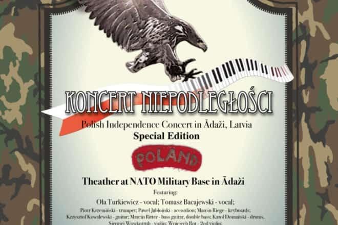 Koncert Niepodległości Łotwa