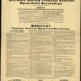 Manifest i pierwsze dekrety Polskiego Komitetu Wyzwolenia Narodowego (1944 r.). Źródło: Polona