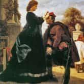 Ilustracja do utworu Pożegnanie