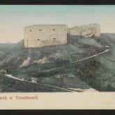 Pocztówka Zamek w Trembowli. Źródło: Polona