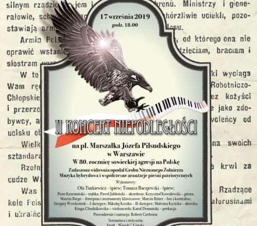 Koncert Niepodległości na pl. Piłsudskiego