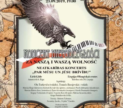 Koncert Niepodległości na Łotwie