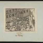 Bitwa o Piotrków w 1769 r. Grafika sprzed 1800 r. Źródło: Polona
