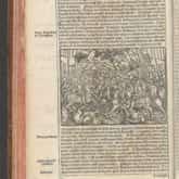 """Bitwa na Psim Polu, drzeworyt z """"Kroniki polskiej"""" Marcina Bielskiego (1597). Źródło: Polona"""