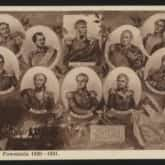 Bohaterowie Powstania 1830-1831. Pocztówka (1927-1936). Wydawnictwo Salonu Malarzy Polskich, Kraków. Źródło: Polona