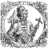 Ilustracja do utworu Boleslaue, Dux Gloriosissime