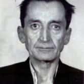 """Emil Fieldorf """"Nil"""", pułkownik Wojska Polskiego i dowódca Kedywu Armii Krajowej – najsławniejszy więzień obozu NKWD w Rembertowie. Zdjęcie po aresztowaniu w 1950 r."""